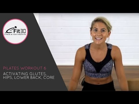Pilates Activating glutes, awakening your core by Sophie