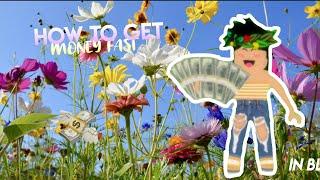 COME PER GET FAST MONEY IN BLOXBURG! Roblox