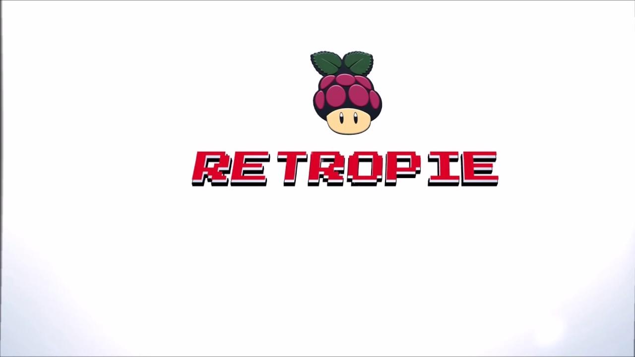 Retro Pie Splash-screen Video