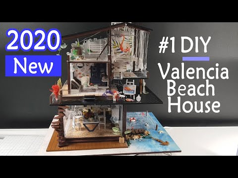 01.DIY Miniature House | Valencia Beach House