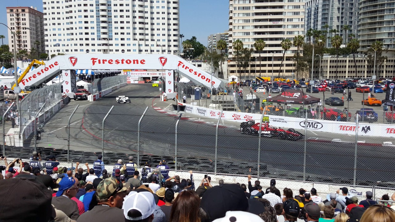 2017 Indycar Grand Prix Of Long Beach 1440p Race Grandstand 18 Turns 9 10 11