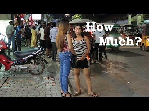 Cambodia Street Scenes Nightlife - VLOG 24
