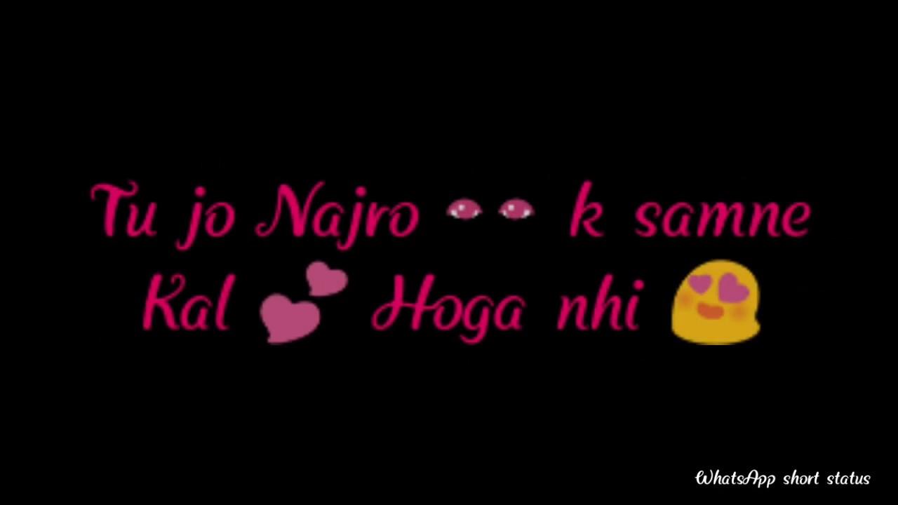Roke Na Ruke Naina Heart Touching Song Whatsapp Short