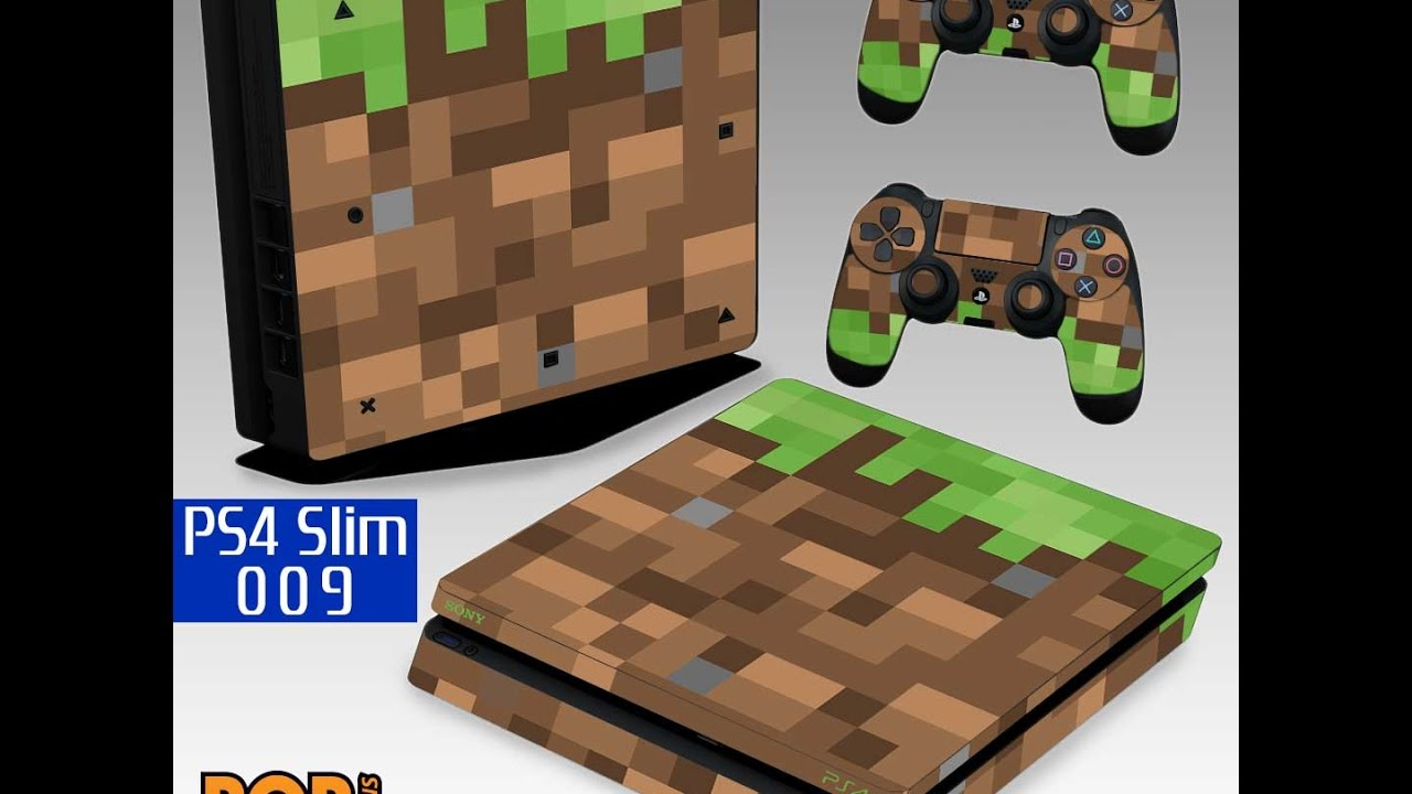 Ps4 Slim Skin Minecraft