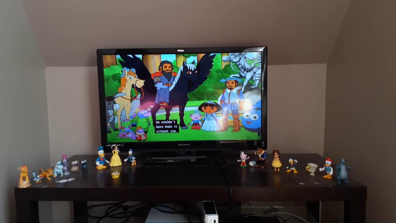 Dora's Royal Rescue Closing