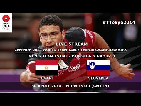 #TTokyo2014: Egypt - Slovenia