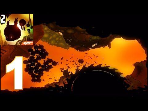 BadLand 2 - Gameplay Walkthrough Part 1 (iOS, Android)