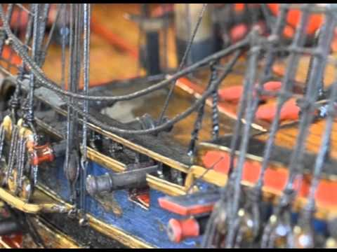Model Ship Restoration - Cleaning the Model