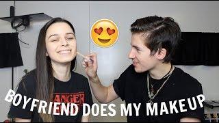 Boyfriend Does My Makeup