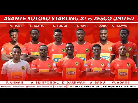 TACTICAL ANALYSIS AHEAD OF KOTOKO- ZESCO UNITED GAME | TSPORTS