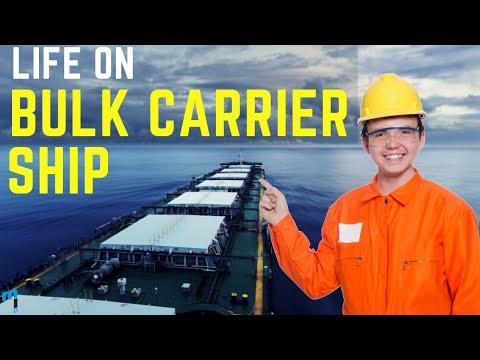 Bulk Carrier Ship #lifeatsea