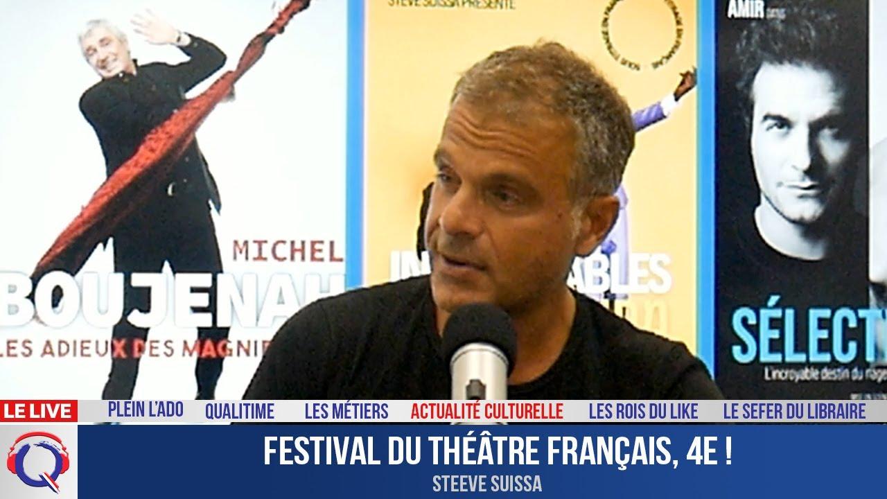 Festival du théâtre français, 4e ! - Actuculture#292