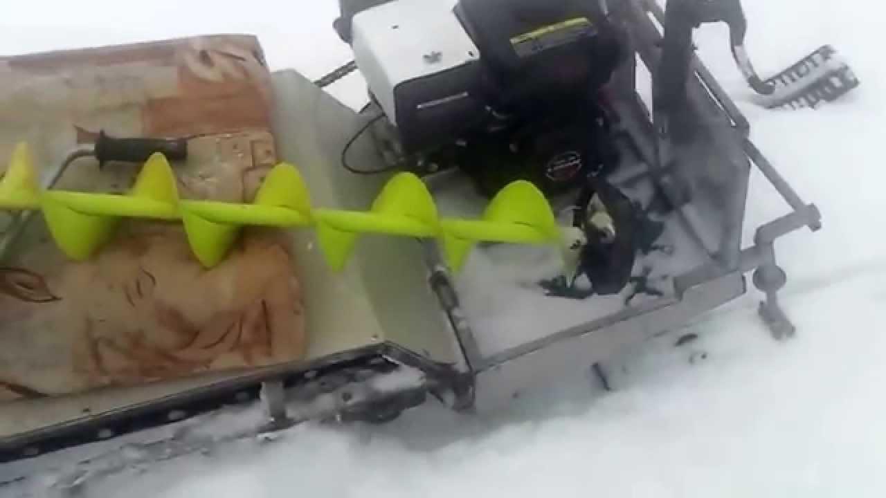 Мини снегоходы своими руками видео 70