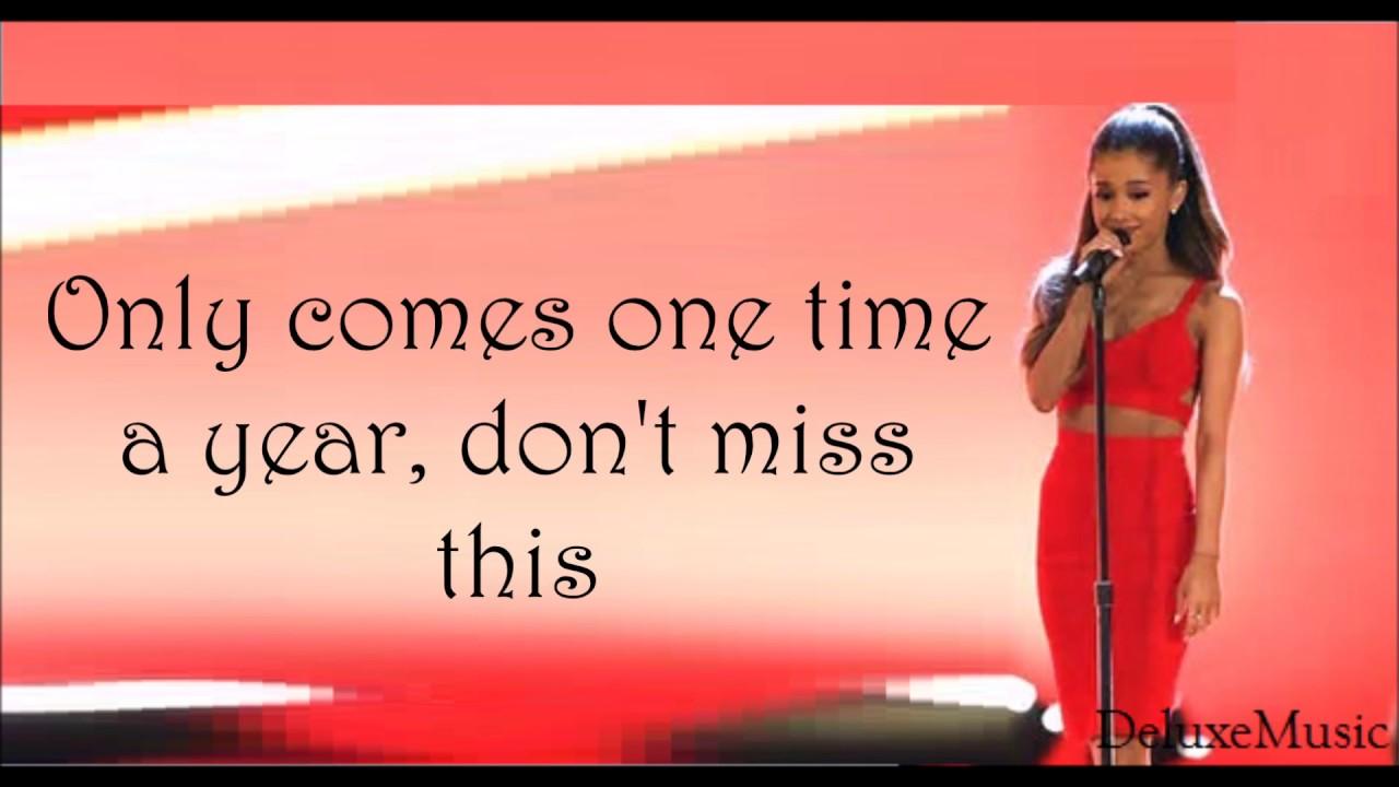 Ariana Grande - Intro (Christmas & Chill) (lyrics) - YouTube
