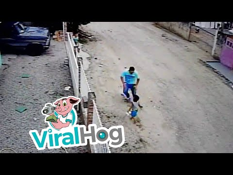 Boy Miraculously Escapes Uninjured from Car Running Him Over || ViralHog