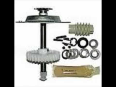 how to change a gear kit on a liftmaster sears craftsman or