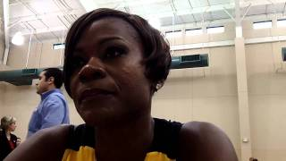 Sheryl Swoopes - 2011 Tulsa Shock Media Day