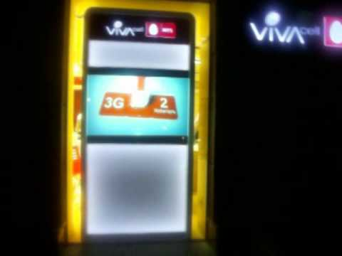 IWorld Armenia presents VivaCell MTS Armenia new service center video wall