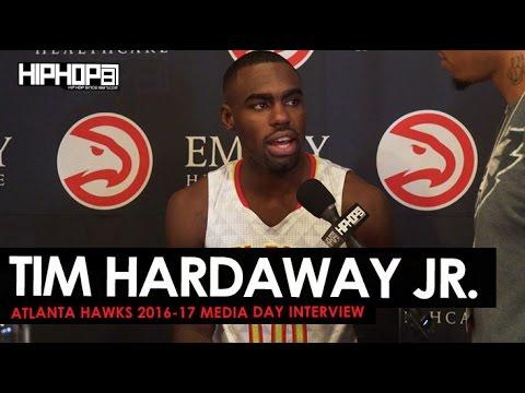 Tim Hardaway Jr. Talks & More During 2016-17 Atlanta Hawks Media Day with HHS1987 (Video)