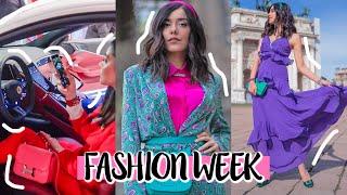 NUOVA FERRARI ROMA + MILAN FASHION WEEK | weekly vlog #4  | Vanessa Ziletti
