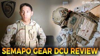 SEMAPO GEAR DCU CRYE COMBAT UNIFORM REVIEW - SPARTAN117GW
