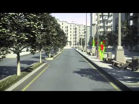Volvo V40 – Pedestrian Detection with full auto brake
