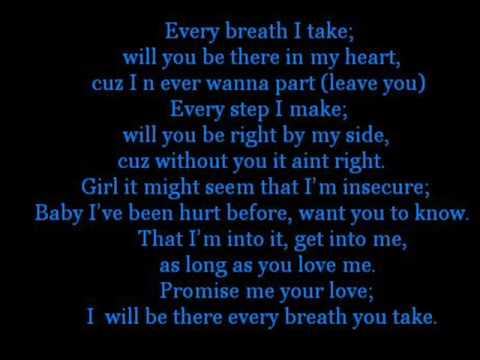 Gio - Every Breath (w/lyrics)