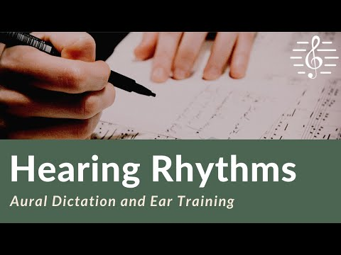 Aural Dictation - Rhythms in Simple Time (Lesson 1)