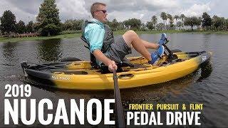Nucanoe Pivot Drive   Pedal Drive For Frontier, Pursuit, & Flint