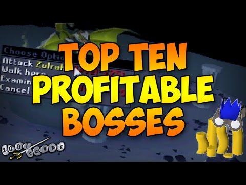 OSRS Top Ten Most Profitable Bosses