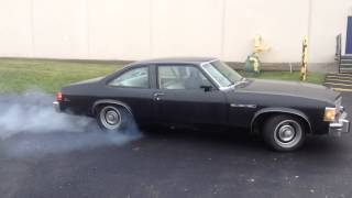 Burnout 1977 buick skylark mark krinjeck