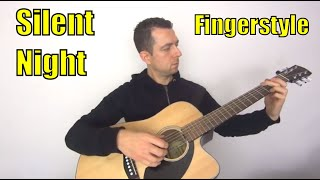 Download lagu Silent Night Chords, Guitar Tab And PDF - Fingerstyle!