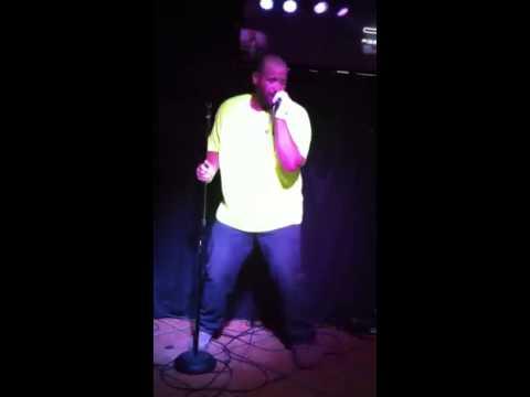 Big Dave at 7 Mile karaoke