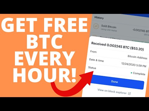 FREE BITCOIN EVERY HOUR NO CATCH! EARN BTC DAILY | FREE BITCOIN SITES (NOT MINING!)