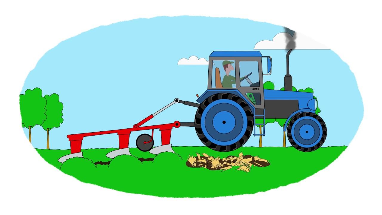 A colorear! - Remolques de tractores - Vídeo infantil - YouTube