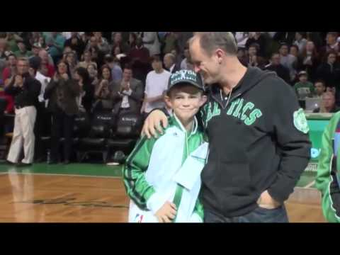 Celtics make dream come true for special young