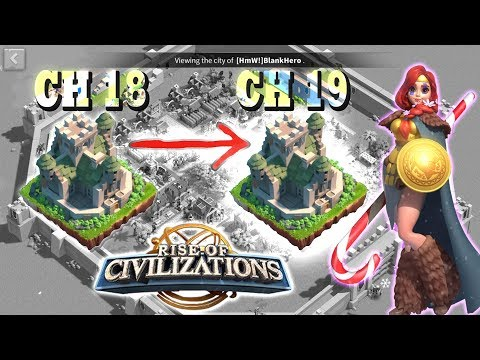 Rise of Civilizations: Upgrade City Hall 18 to City Hall 19