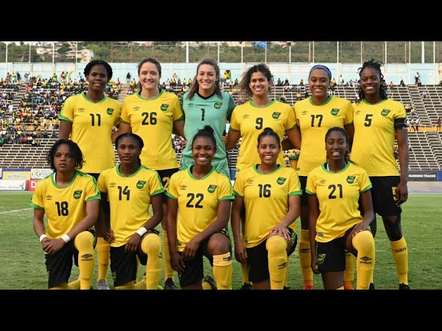 best service e911a 4afcf Jamaica faces Brazil in their historic debut in the Women's ...