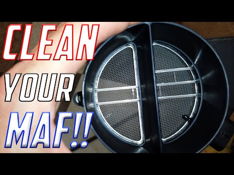 How to Easily Clean a C5 Corvette (LS1) Mass Airflow (MAF) Sensor HD Voice Tutorial