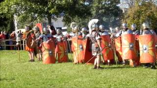 Roman legionary Ermine street Aalen