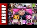 DESPICABLE ME 3 Official Trailer Reactions Mashup mp3