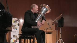 Bach flute sonata Movement 3 tuba solo