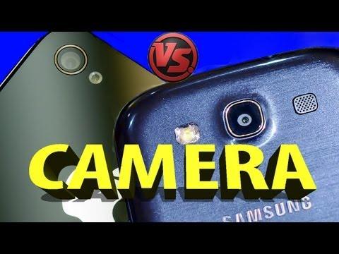 Samsung Galaxy S3 Mini Camera VS iPhone 4S - Part 3/8 CAMERA