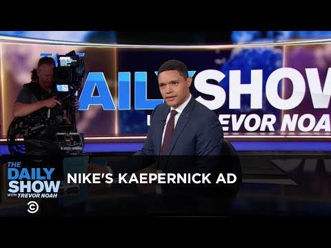 Nike's Kaepernick Ad - Between the Scenes | The Daily Show