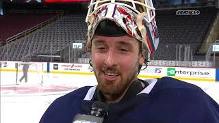 Keith Kinkaid Reflects On His Career In New Jersey | New Jersey Devils Gamenight