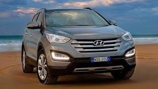 Hyundai Santa Fe 2015 test drive