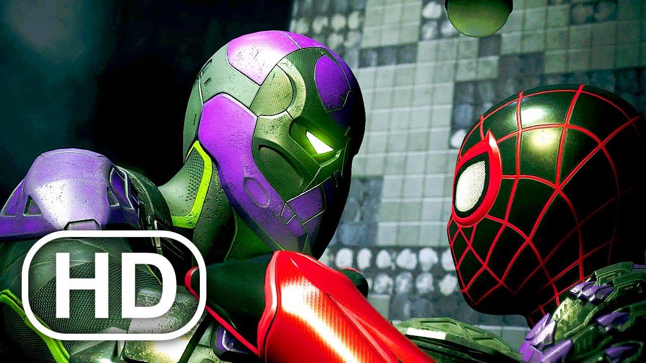 Spider-Man Miles Morales Vs Prowler Fight Scene HD