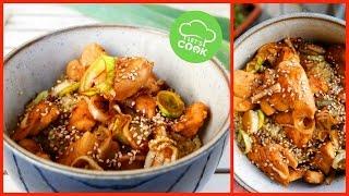 Asiatisches Sesam-Honig Hähnchen 😍 | schnelles Rezept