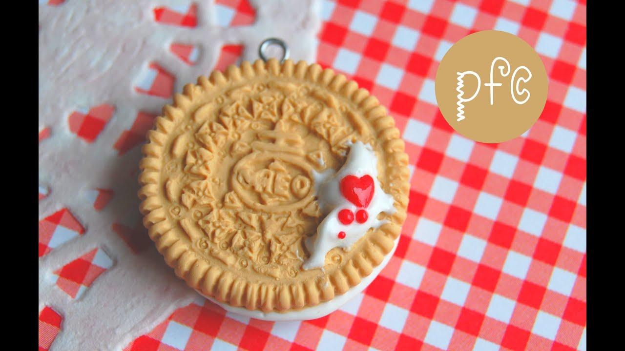 diy valentine u0026 39s day vanilla oreo polymer clay charm