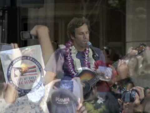JACK JOHNSON AT HAWAII STATE CAPITOL OCTOBER 23, 2009; FURLOUGH FRIDAY